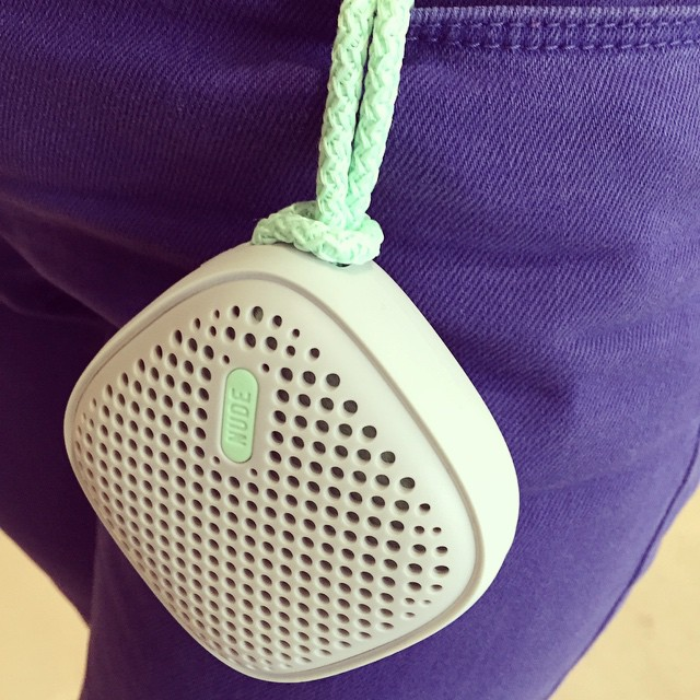 Pocketsize nude nudeaudio moveS speaker pistachio bluetooth