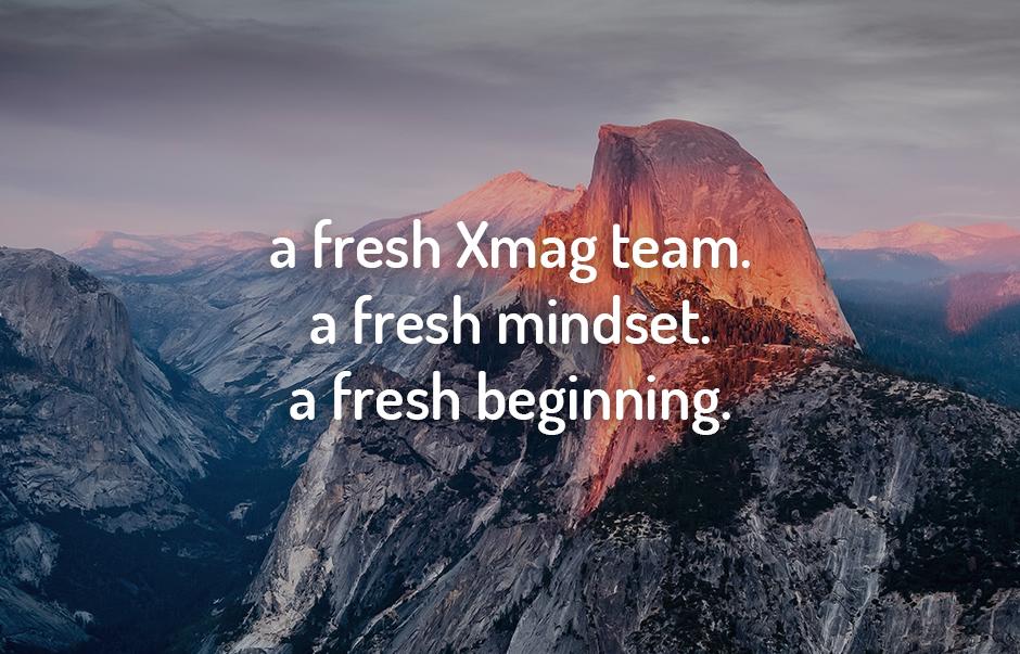 New beginning Xmag